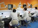 Students in the Phantom Lab